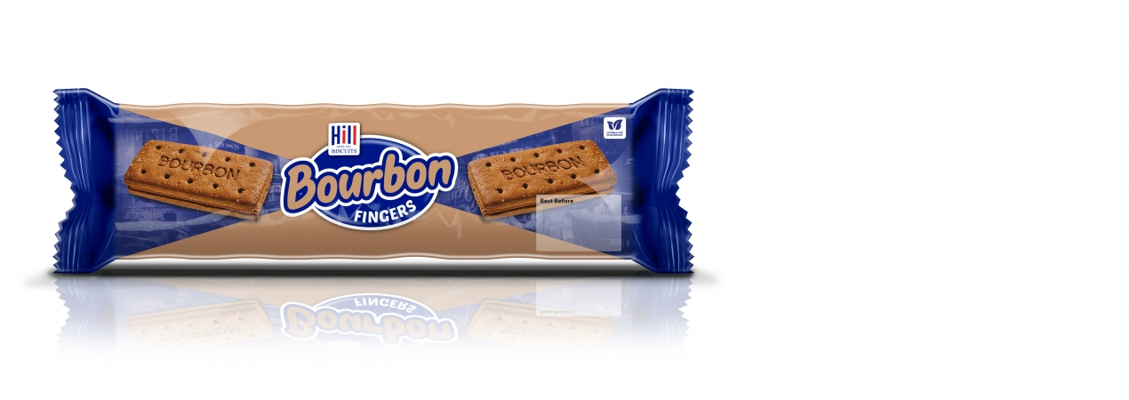 Hill Biscuits BOURBON FINGER CREAMS packet