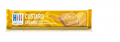 HILL CUSTARD CREAMS 150g x 12 (Foodservice)