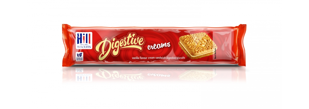 Hill Biscuits DIGESTIVE CREAMS packet