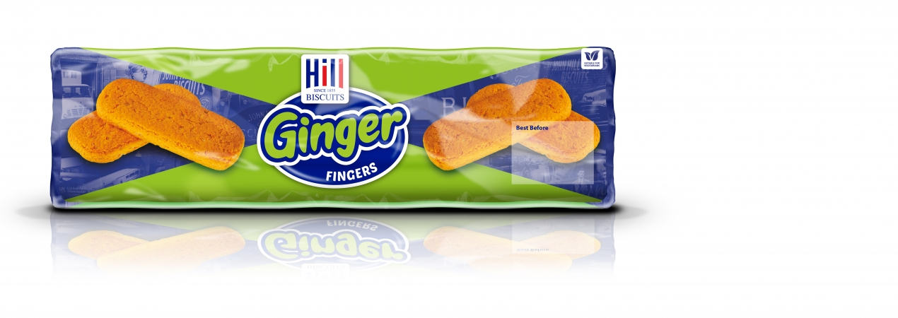 Hill Biscuits GINGER FINGERS packet
