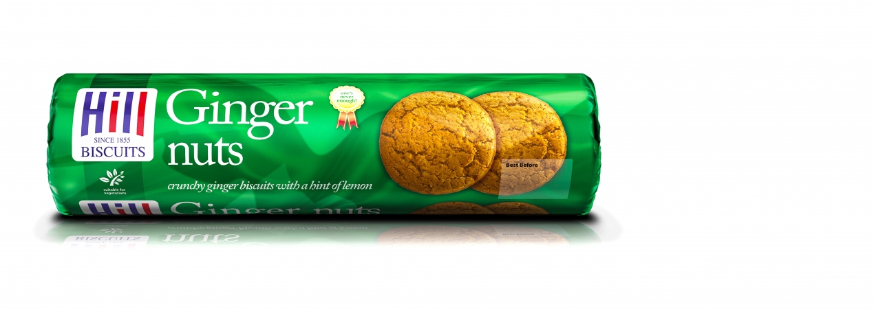 Hill Biscuits GINGER NUTS packet