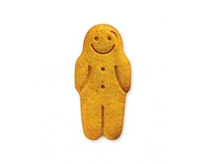 GINGERBREAD MEN 80's biscuit image