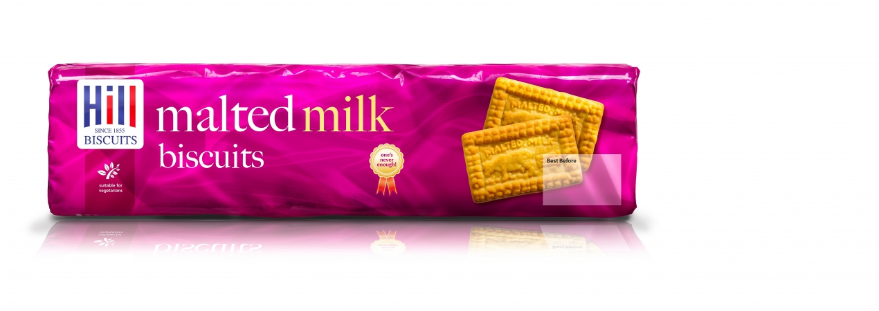 Hill Biscuits MALTED MILK packet