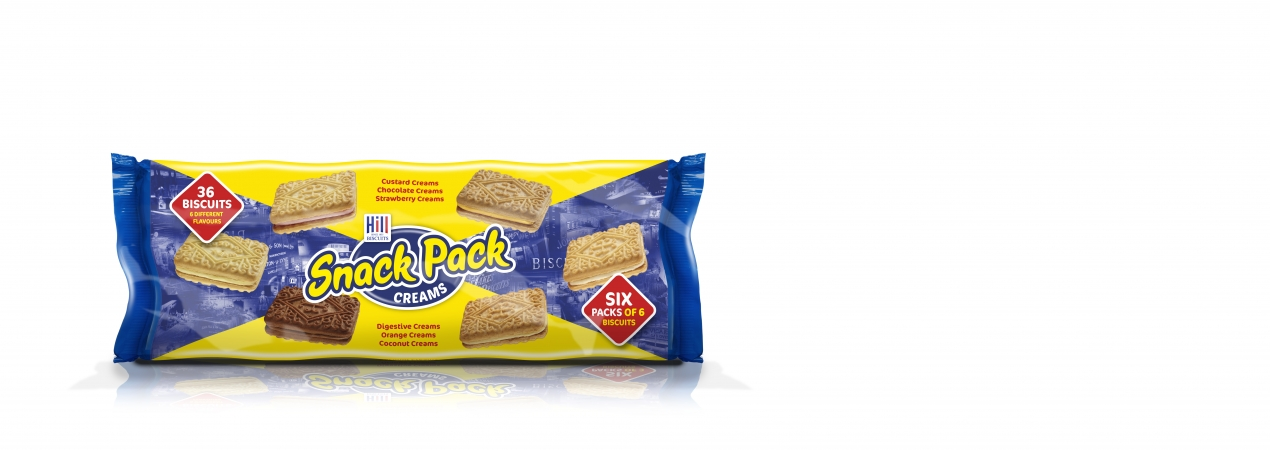 Hill Biscuits SNACK PACKS packet