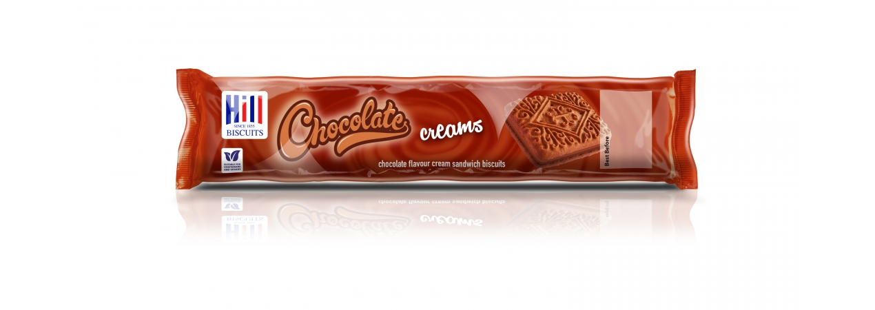 Hill Biscuits CHOCOLATE CREAMS packet