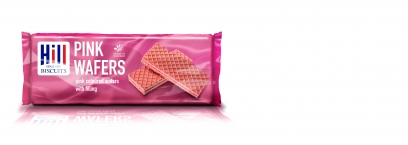 HILL PINK WAFERS 100g x 12 (Foodservice)