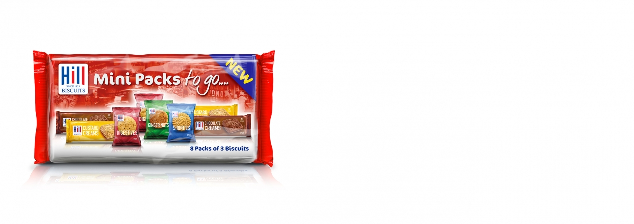 Hill Biscuits HILL MINI PACKS TO GO... packet