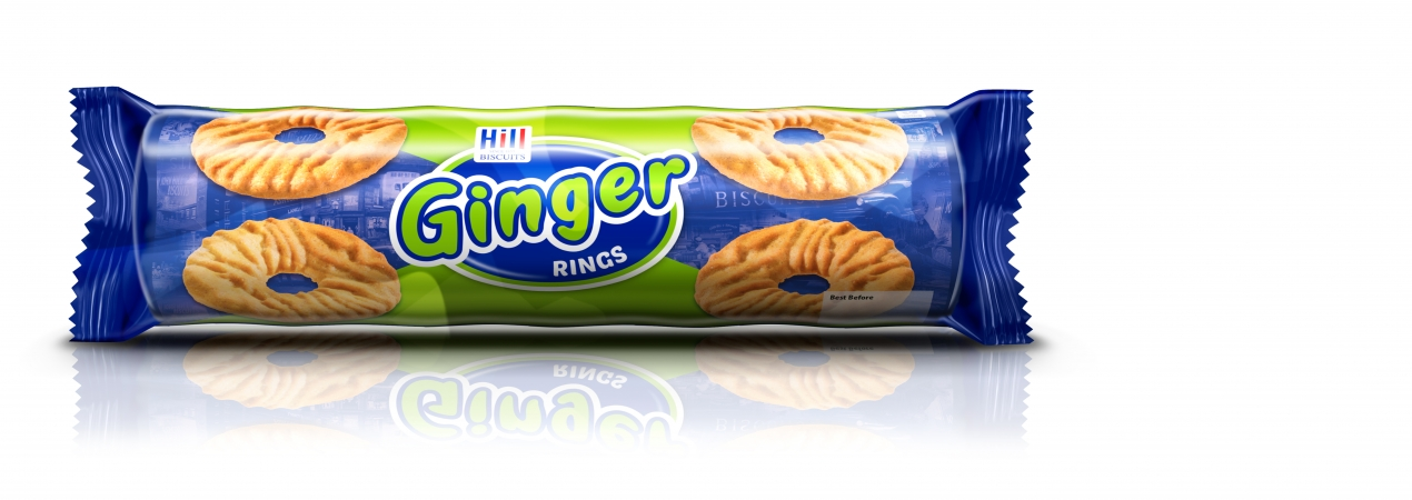Hill Biscuits GINGER RINGS packet