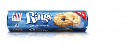 HILL COCONUT RINGS 260g
