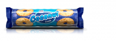 HILL COCONUT RINGS 250g