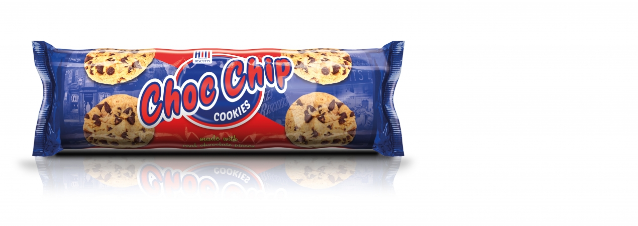 Hill Biscuits CHOC CHIP COOKIES packet