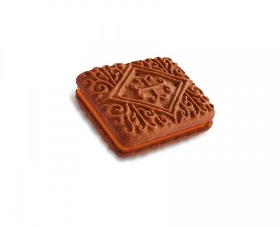 CHOCOLATE ORANGE CREAMS biscuit image