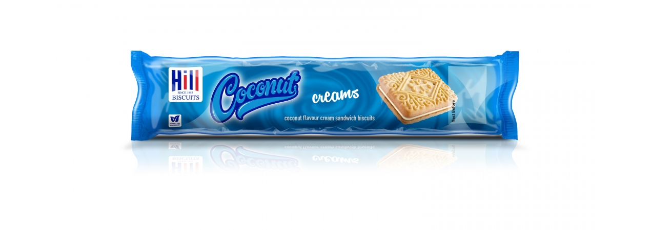 Hill Biscuits COCONUT CREAMS packet