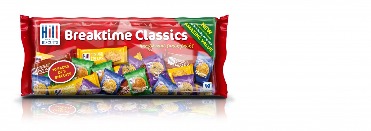 Hill Biscuits BREAKTIME CLASSICS packet