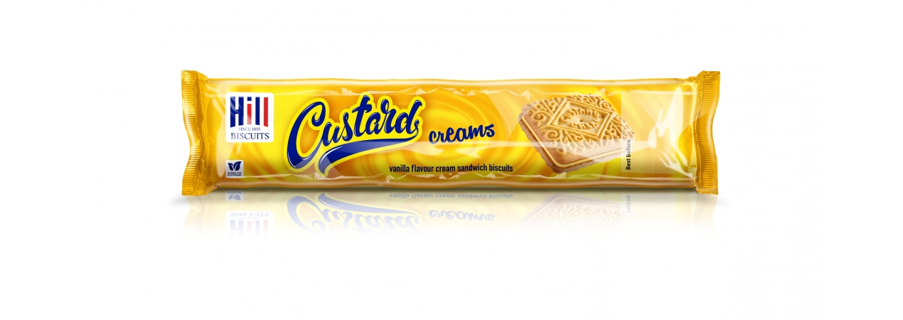 Hill Biscuits CUSTARD CREAMS packet