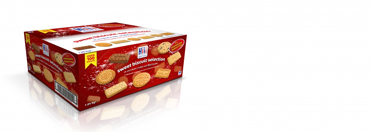 Hill Biscuits SWEET BISCUIT ASSORTMENT packet